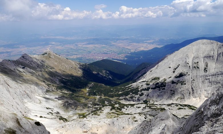 планински иглед към Банско