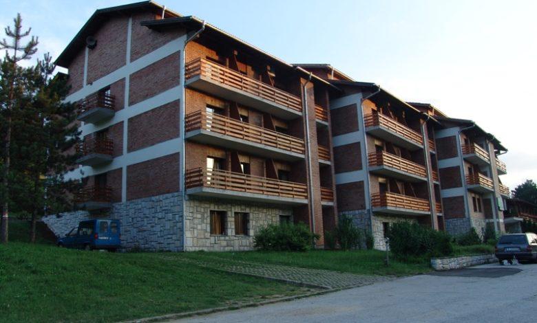 сграда на хотел в България