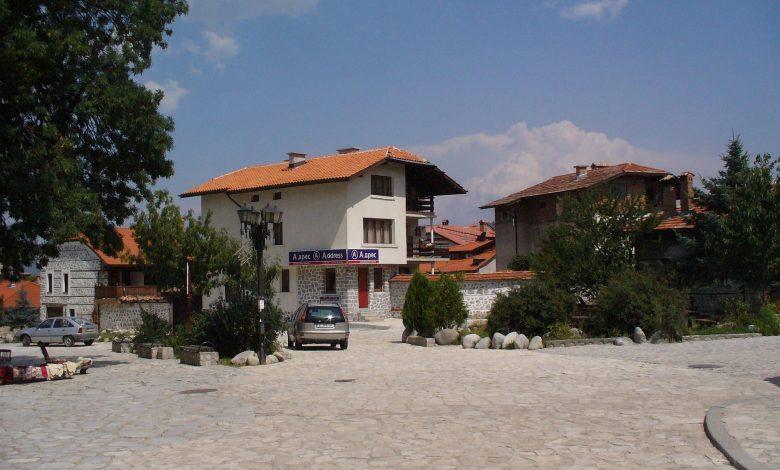 къщи в центъра на Банско
